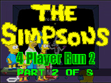 The Simpsons Arcade Game: Four Player Run 2 (Part 2 Of 8)